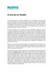 20. El arte de ser flexible - Revista Nueva - Formanchuk & Asociados