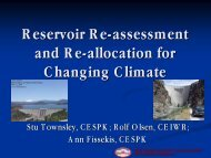 Reservoir Re-assessment and Re-allocation for Changing Climate