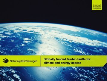 Globally funded feed-in tariffs for climate and energy access
