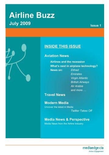 MEC Airline Buzz July 2009