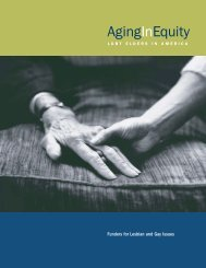 Aging in Equity - Funders for Lesbian and Gay Issues