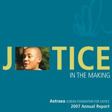 Justice in the Making - Funders for Lesbian and Gay Issues