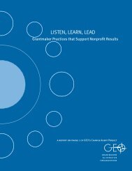 Listen, Learn, Lead - Funders for Lesbian and Gay Issues