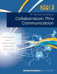 Collaboration Thru Communication - nabca