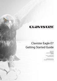 Clavister Eagle E7 Getting Started Guide