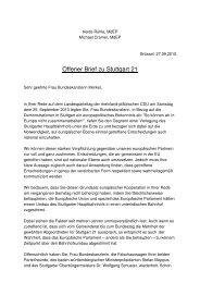 Der offene Brief an Bundeskanzlerin Angela Merkel ... - Heide Rühle