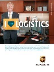 Download the magazine article - Logistics Management