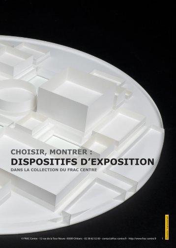 DISPOSITIFS D'EXPOSITION - FRAC Centre
