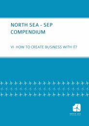 How to create business with it - Compendium VI - North Sea SEP