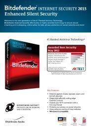 Bitdefender Internet Security 2013 - Get