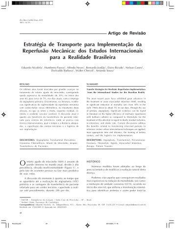 dos Estudos Internacionais para a Realidade Brasileira - Revista ...