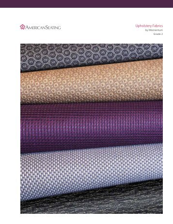 Momentum Grade 2 Upholstery Fabrics - American Seating