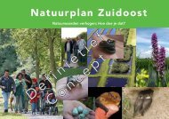 Natuurplan definitief concept - Stadsdeel Zuidoost - Gemeente ...