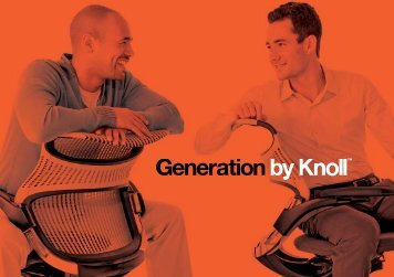 Knoll Generation Chair brochure