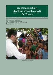 April 2008 - Petrusbruderschaft