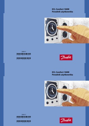ECL Comfort 100M Poradnik użytkownika ECL Comfort ... - Danfoss