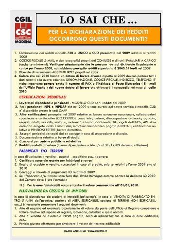 L 39 elenco documenti per il rinnovo della patente speciale - Documenti per il 730 ...