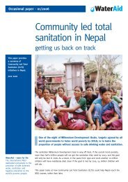 Community led total sanitation in Nepal - getting us back ... - WaterAid
