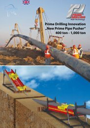 New Prime Pipe Pusher - Prime Drilling GmbH