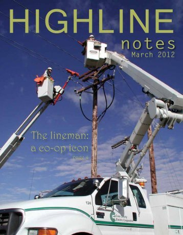 March 2012 notes - Cass County Electric Cooperative