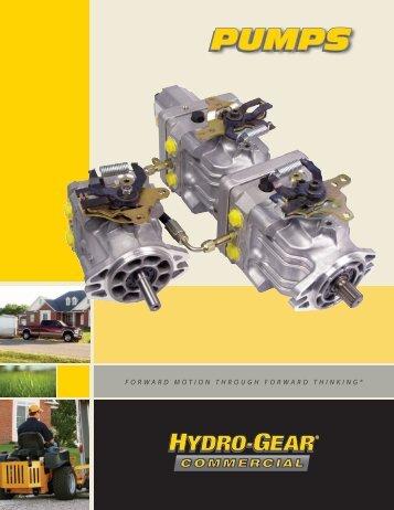 Hydro gear 310 0510 Service Manual