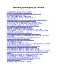 2007. (elemi költségvetés - Veszprém megye honlapja