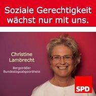 Das Letzte zum Schluß - Christine Lambrecht
