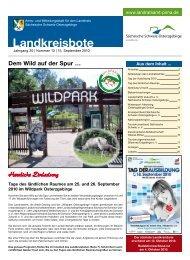 Landkreisbote - Landkreis Sächsische Schweiz - Osterzgebirge