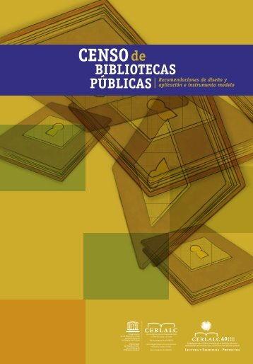 Censo de bibliotecas públicas - Cerlalc