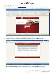 Download Panduan Entry KRS - Portal Akademik
