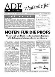 Wadenbeißer Nr. 42 vom 16.12.2002 [PDF] - ADF ...