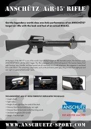 ANSCHÜTZ® AiR-15® Rifle - JG ANSCHÜTZ GmbH & Co. KG ...
