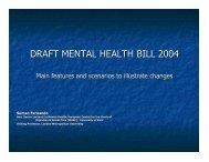 DRAFT MENTAL HEALTH BILL 2004