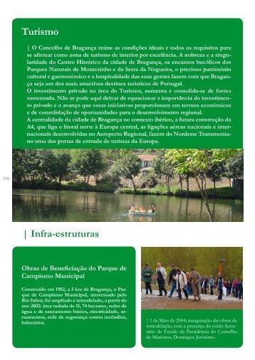 Turismo | Infra-estruturas - Câmara Municipal de Bragança