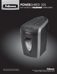 POWERSHRED® 50S 50S - Fellowes