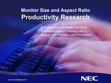Monitor Size And Aspect Ratio Productivity ... - Advanced News