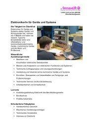 Elektroniker/in für Geräte und Systeme - Annastift