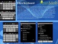 Ultra Keyboard - RunMob