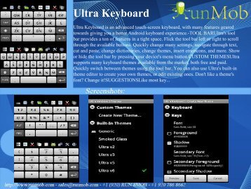 Ultra Keyboard - RunMob