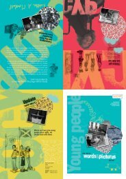 Young people's annual report poster 2007-08 - Scotland's ...