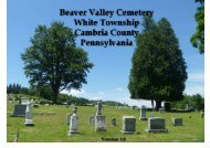 Beaver Valley Cemetery - Kennys Place