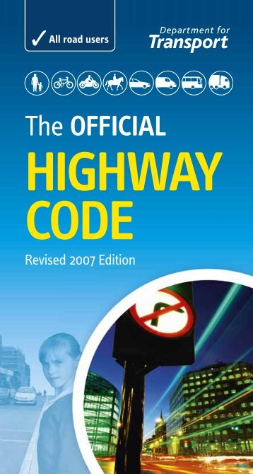 Highway Code Rules 1-101 - Best Management Practice