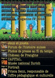 Magazine IV 2012. Jeux et jouets. Forum de l'histoire suisse Photos ...