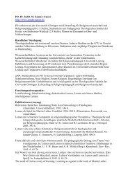 PD Dr. Martin Sander-Gaiser - netzwerk-bildung-religion