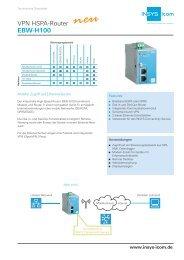 VPN HSPA-Router EBW-H100 - M2M Alliance