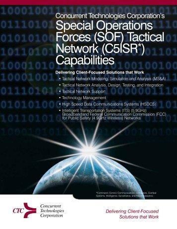 Tactical Network (C5ISR*) - CTC External Portal - Concurrent ...