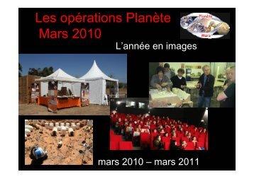 Bilan 2010 - Planète Mars