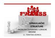 Microsoft PowerPoint - 11 UPRAVLJA\310KE STRUKTURE - LUMENS