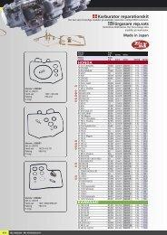 Karburator rep. kit - Masi-Import