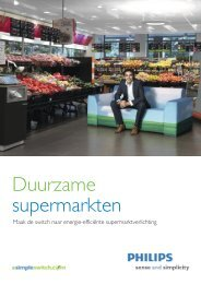 Duurzame supermarkten - Philips